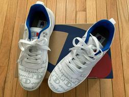 Champion Super C Court Low Print White Men's 10.5 Shoes Snea