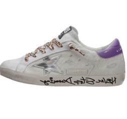 Golden goose superstar sneakers Never stop dreaming leopard