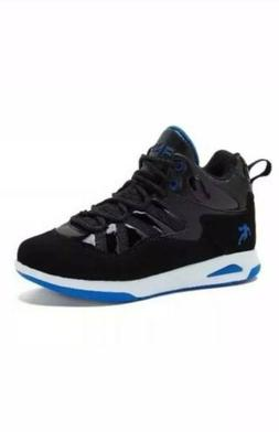 And1 Swag Black/Blue Youth Boy's Athletic Basketball Shoes S