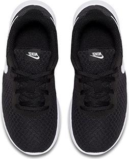 Nike Tanjun  818382-011 Black White Kids US size 3