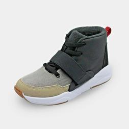 Art Class Target Boy's Jarden Black Tan High Top Sneakers Si