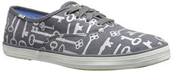 Keds Women's Taylor Swift Key Print Fashion Sneaker,Gray,11