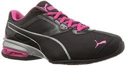 PUMA Women's Tazon 6 WN's fm Cross-Trainer Shoe, Black Silve