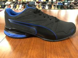 Puma Tazon Modern SL FM Black/Blue Men's Size M Running Trai