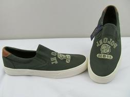 Polo Ralph Lauren Thompson Mens Size 10 Slip On Canvas Rlite