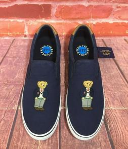 POLO RALPH LAUREN THOMPSON POLO BEAR MEN'S CASUAL SLIP ON SN