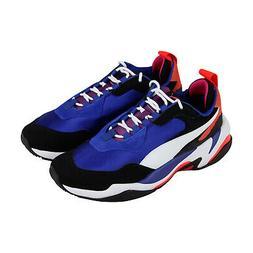 Puma Thunder 4 Life 36947101 Mens Blue Suede Casual Low Top