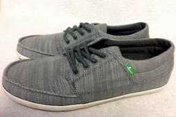Sanuk TKO Vintage Slub Sneakers Tennis Shoes Lace Up Men's 1