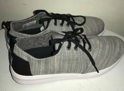 TOMS men's DEL REY SNEAKERS Casual Shoes Lace Up Woven Patte