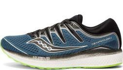 Saucony Triumph ISO 5 Mens Sneaker - Steel/Black - 11