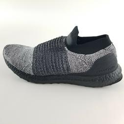 adidas Men's Ultraboost Laceless,black/black/white,11 M US
