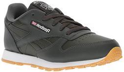 Reebok Unisex Classic Leather Sneaker, Gum-Dark Cypress/Whit