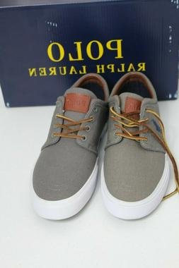 Polo Ralph Lauren US 8.5/8 D Faxon Low Cut Sport Canvas Fash