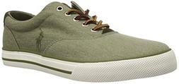 Polo Ralph Lauren Men's Vaughn Sneaker, Green, 9 D US