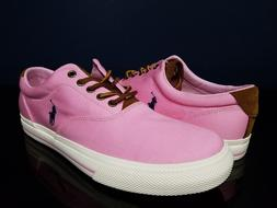 Polo Ralph Lauren Vaunghn-SK-VLC Men's Pink Sneaker Shoes