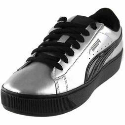 Puma Vikky Platform Metallic  Casual   Sneakers - Silver - W