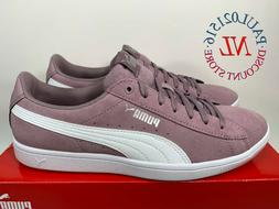 NEW Puma Vikky Women's Suede Softfoam Court Low-Top Sneaker