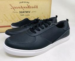 Weatherproof Vintage Men's Ethan Memory Foam Sneaker Black,