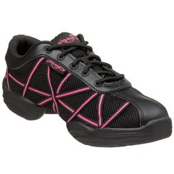 Capezio Women's Web Dance Sneaker,Hot Pink,8 M US