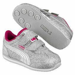 PUMA Whirlwind Glitz V Baby Sneakers Kids Shoe Kids New
