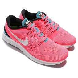 Wmns Nike Free RN Run Pink Blue Women Running Shoes Sneakers