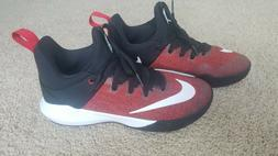 womans nike zoom shift mid rise basketball shoes sneakers 7.