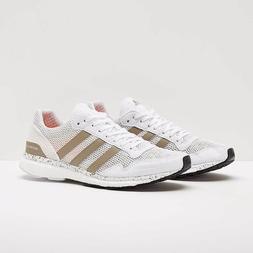 Women Adidas Adizero Adios White Running Shoes Womens Sneake