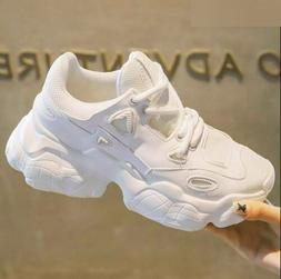 Women Breathable Mesh Chunky Sneakers Comfortable Platform S