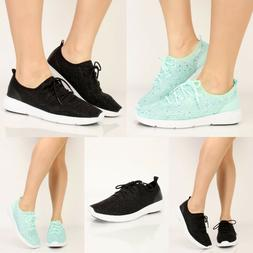 women kids fashion netted rhinestone casual shoes