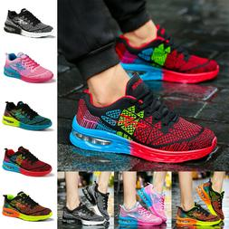 Women's Air Cushion Sneakers Breathable Running Walking Trai