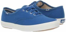 Keds Women's Champion Seasonal Solid Sneaker, Blue