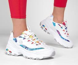 Skechers Women's D'Lites - Summer Fiesta Sneaker