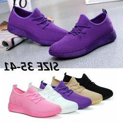 Women's fashion casual sport shoes flats sneakers running sh