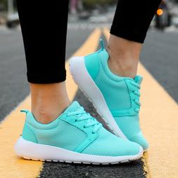 Women's Fashion Sneakers Knit Breathable Sport Shoes Athleti