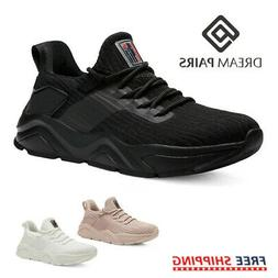 DREAM PAIRS Women's Fashion Sports Sneakers Breathable Athle