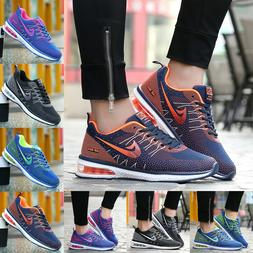 Women's Flyknit Sneakers Air Cushion Athletic Tennis Shoes R