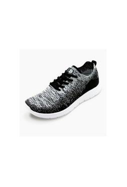 Women's Freedom 2 Wide Width Knit Sneakers- C9 Champion Blac
