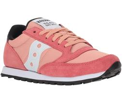 Saucony Women's Jazz Low Pro Coral/White Ankle-High Walking