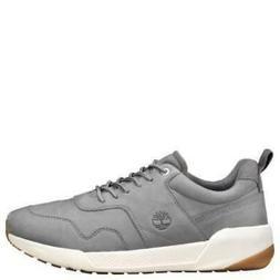 Kiri Up Grey Leather Retro Sneaker