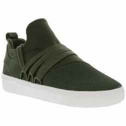 Steve Madden Women's Lancer Olive Ankle-High Fabric Fashion