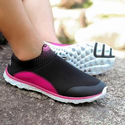 Women's Lightweight Aqua Water Shoes Beach Sneakers Sports W