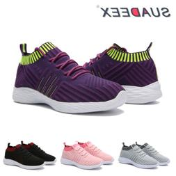 Women's Lightweight Sneakers Running Walking Gym Breathable