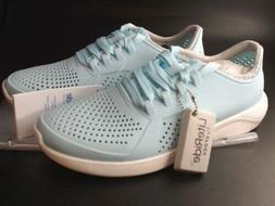 Crocs Women's Literide Pacer Sneaker Ice Blue Size 7