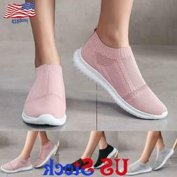 Women's Mesh Casual Single Shoes Low Top Slip Ons Flats Loaf