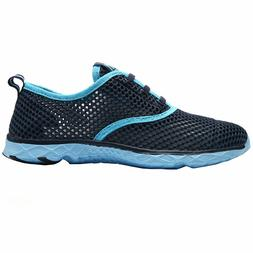 Aleader Women's Quick Dry Water Shoes Slip On Breathable Mes
