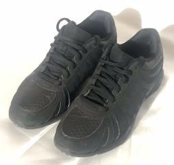 Women's safeTstep Slip Resistant Black Sneaker Style Shoes S