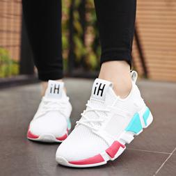 Women's Sneakers Casual Shoes Mesh Tennis Breathable Workout