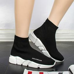 Women's Sneakers Casual Shoes Flyknit Running Socks Shoes Sp
