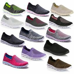 women s sneakers slip on running walking