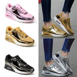 Women's Sneakers Tennis Shoe Bling Sequin Walking Training R
